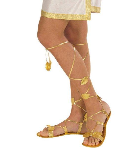 Guld Sandaler Tilbehoer