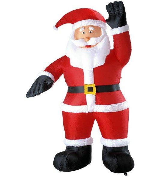 Stor oppustelig julemand Tilbehoer