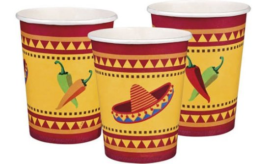 Mexikanske Kopper Festartikler
