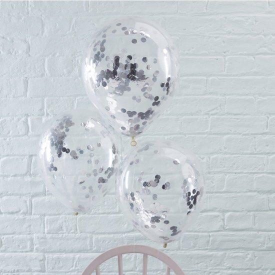 Konfetti Balloner, Soelv Festartikler