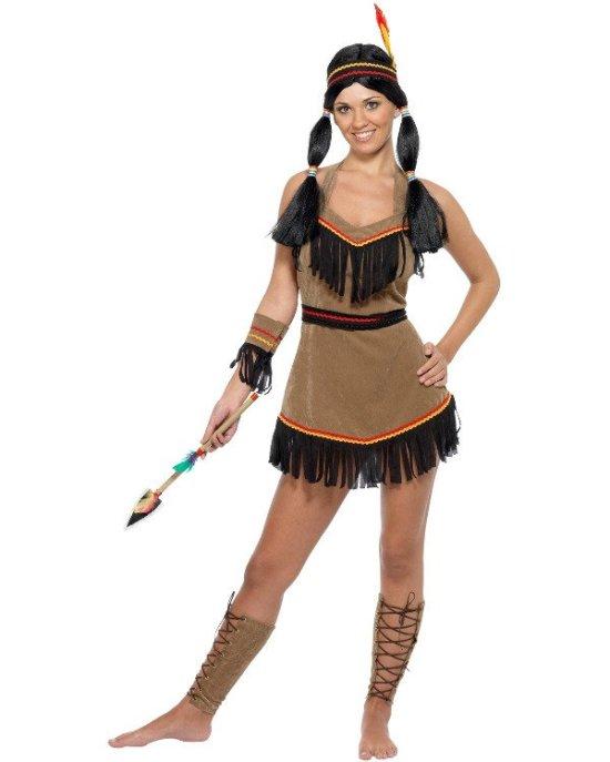 Charmerende indianer Kostumer
