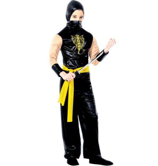 Lille Power Ninja Kostumer