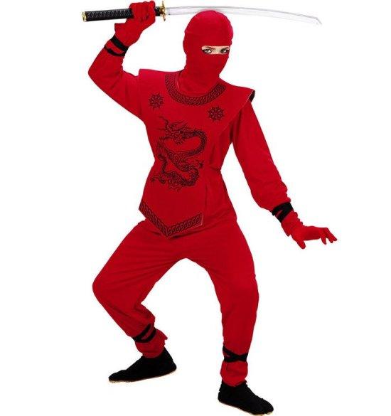 Lille roed ninja Kostumer
