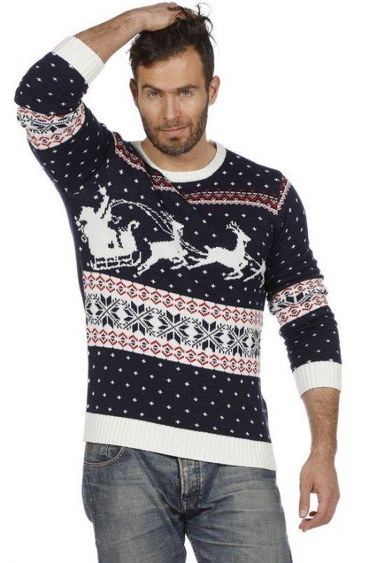 Jule Sweater Blaa Kostumer