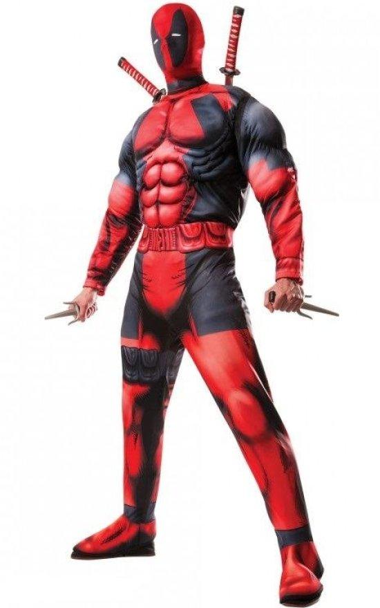 Deadpool Deluxe Kostume Kostumer