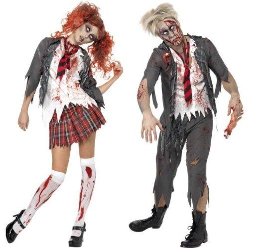 Zombie Skole Par-Kostume Kostumer