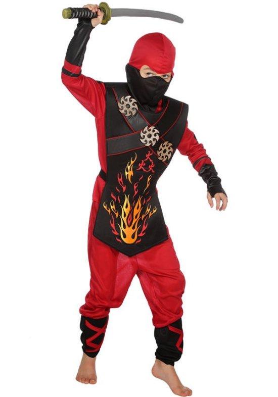 Roed Ninja Kostumer