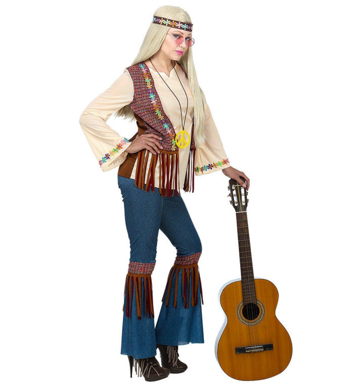 Sød 60er Hippie Kostume