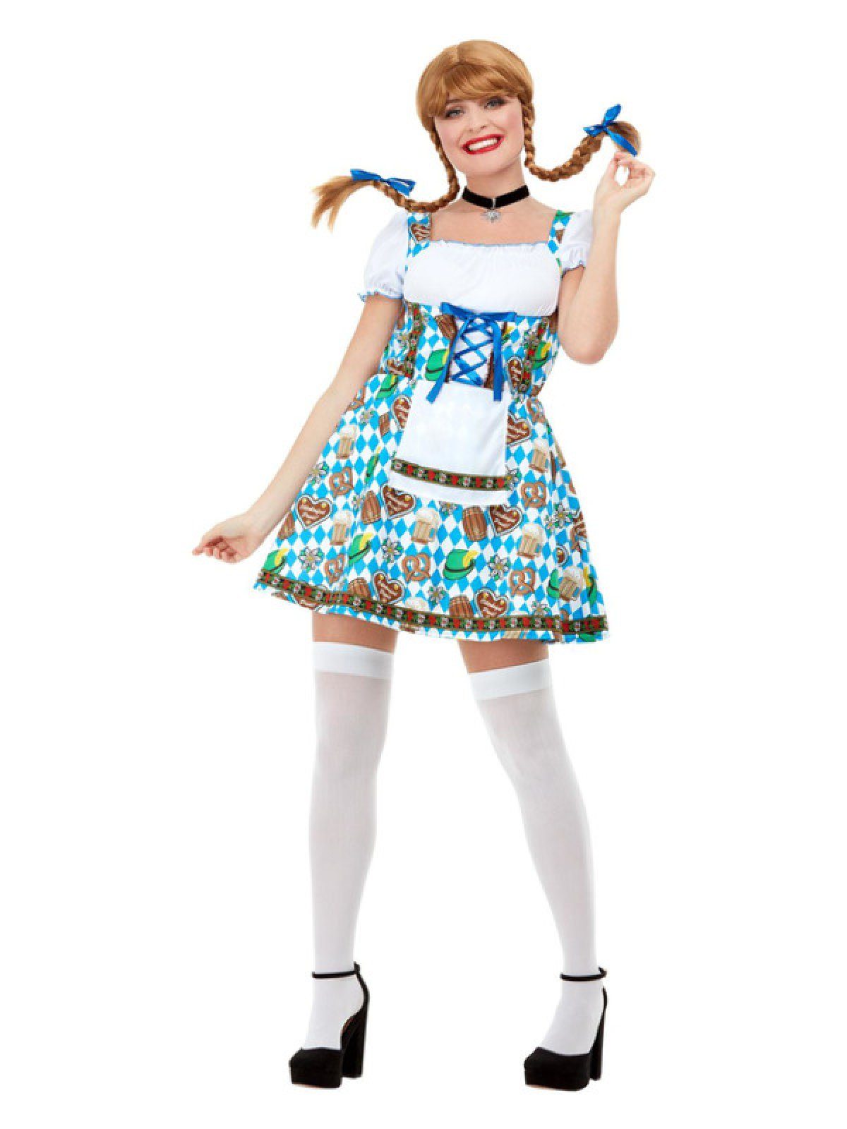 Oktoberfest Kjole Kostume