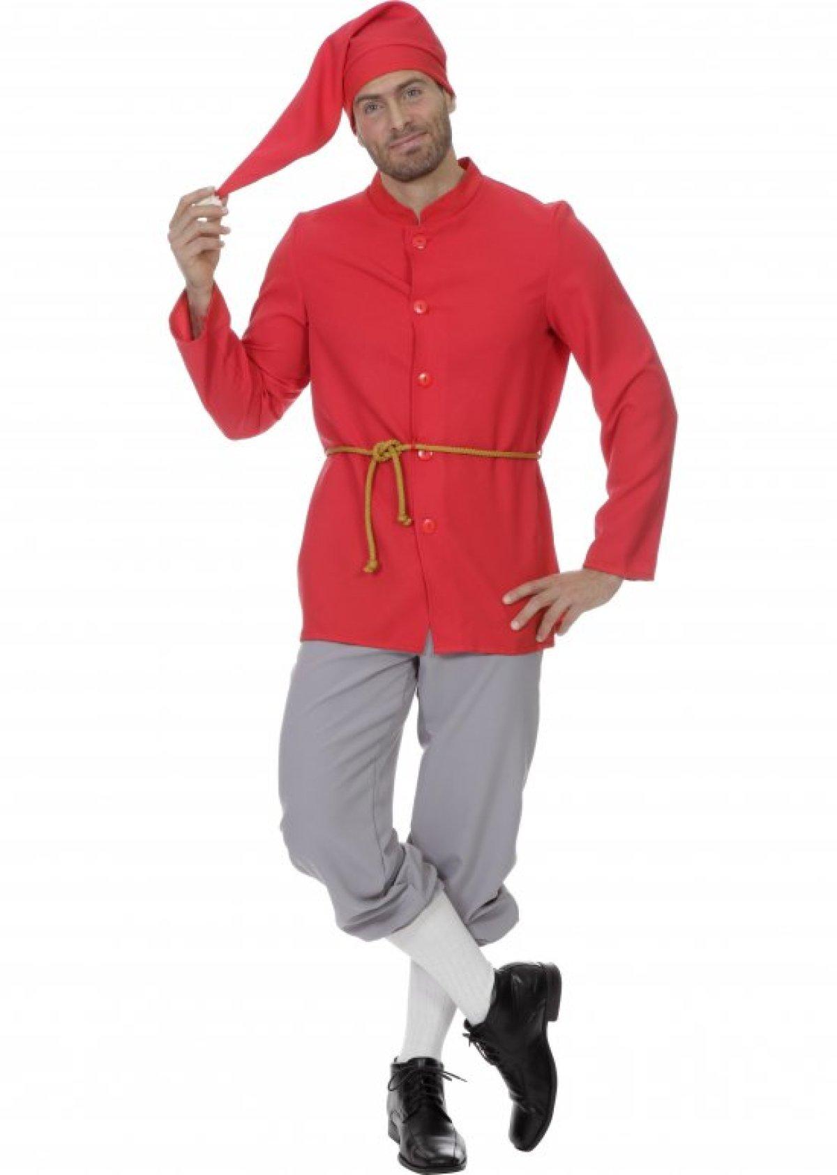 Klassisk Nisse kostume